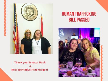 Human Trafficking Bill Passed