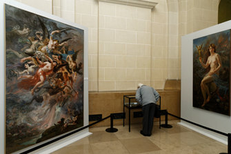Exposition d'œuvres d'art