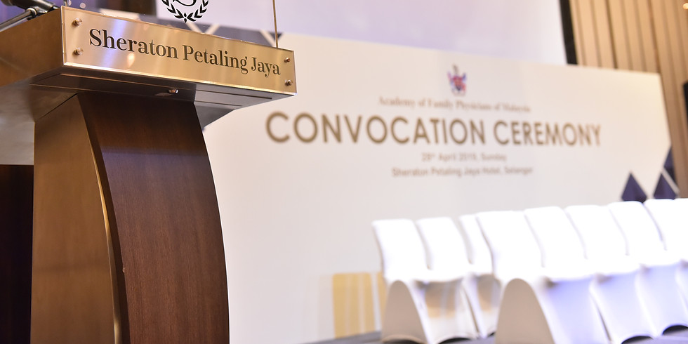 CONVOCATION CEREMONY 2020: CPCD