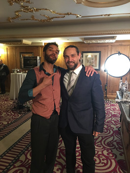 On Set of 'Queen of Diamonds' - With Samuel Anderson ('Doctor Who').