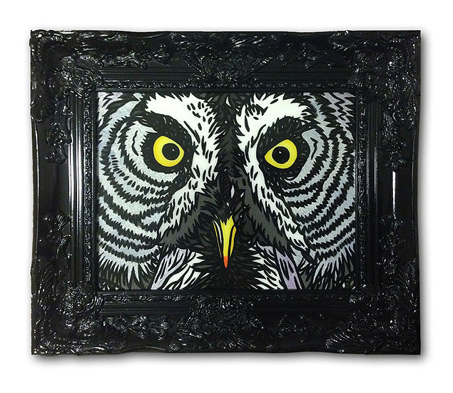 """On the PrOwl"" (Acrylic Print)"