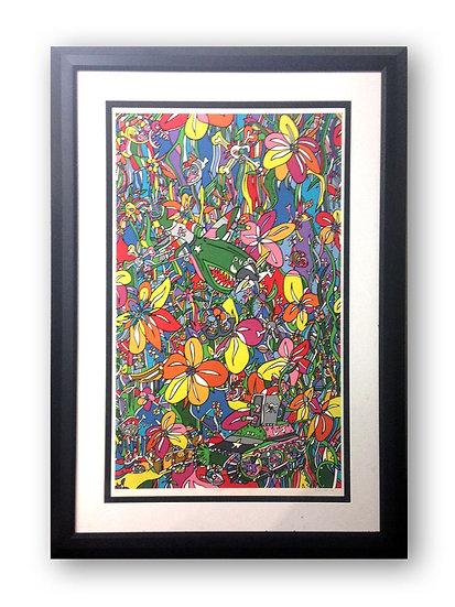 """Piranha"" (Framed Print)"