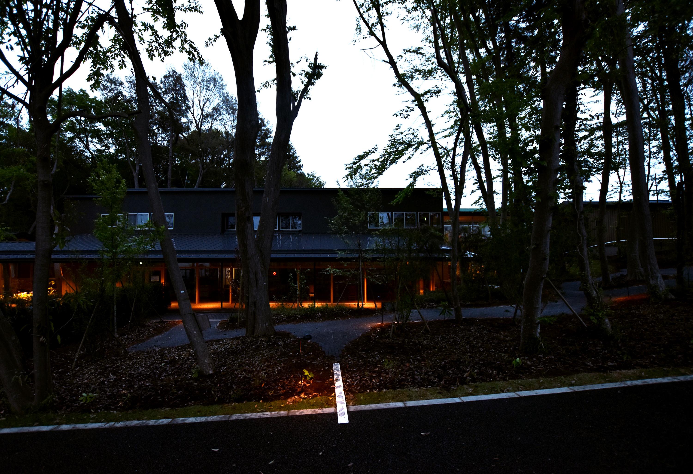 小さなパスを照らす照明/The lighting for the thin path