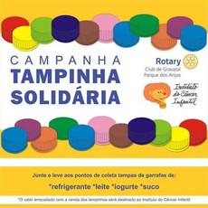 Campanha de arrecadação de tampinhas para ajudar   ao Instituto do Câncer Infantil de Porto Alegre