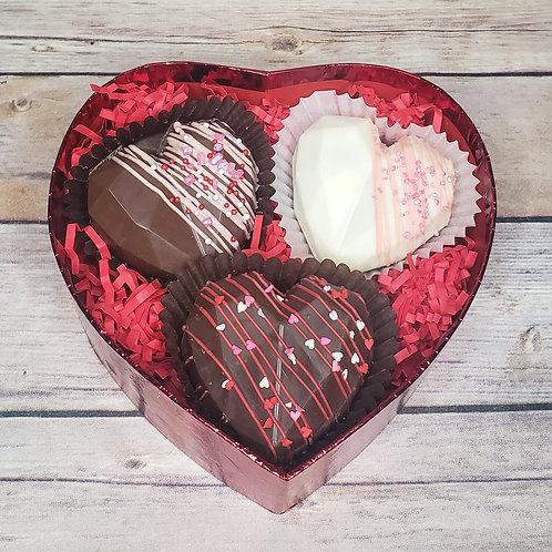 Heart Hot Cocoa Bomb Gift Set