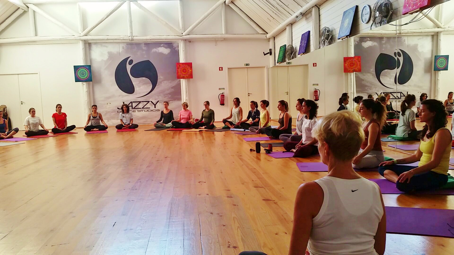 Freedom Yoga workshop, Portugal 2015