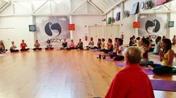 Freedom Yoga workshop, Portugal 2015