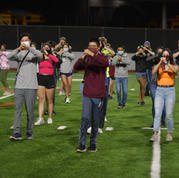 All MIHS Band Rehearsal