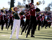 MIHS and BEG performs together at Tournament of Roses