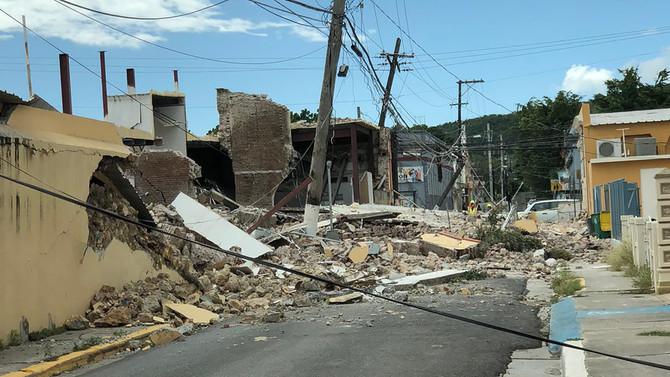 Guayanilla Earthquake Damage