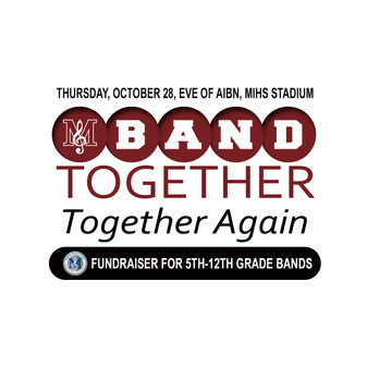 Band Together, Together Again - Save the Date