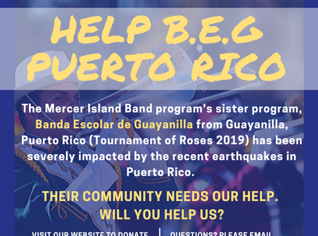 Helping Our Partner Band