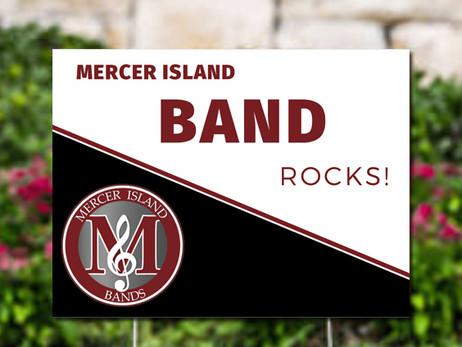 Mercer Island Bands Spirit Gear Store is Open