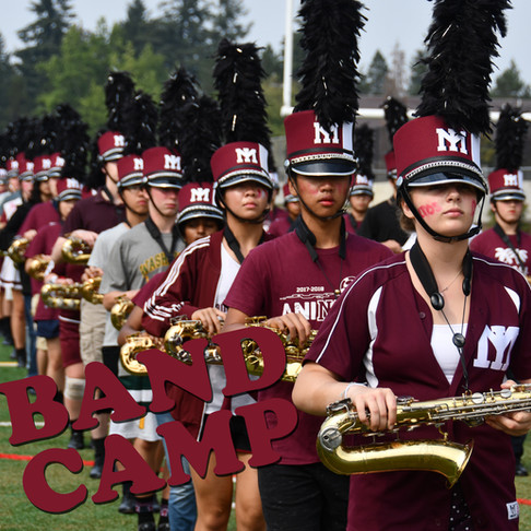 MIHS Band Camp was unique this year