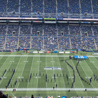 Missed  the Hawks game?  Watch MI Band's performance here!