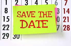 Save the date - Saturday, Nov 14, 2020
