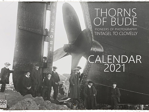 Bude Calendar 2021 -Thorns Of Bude Photographers 1850s to 1932