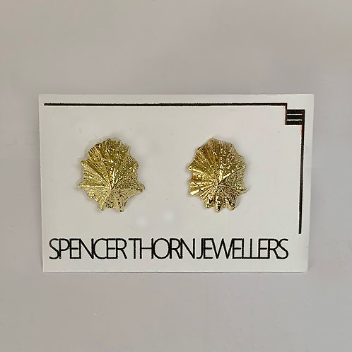 Limpet Earring - 9 Carat Yellow Gold