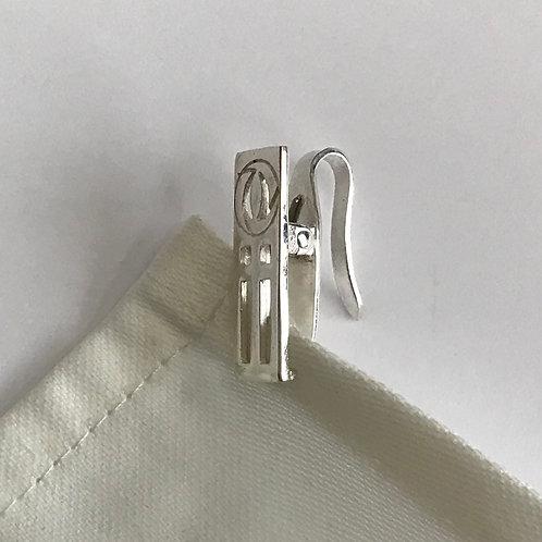 Napkin Hook Clip Hook - R Mackintosh Design - Sterling Silver