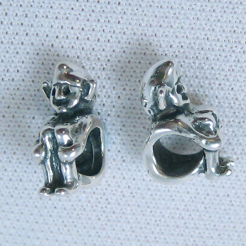 Cornish Pixie Bead - Silver
