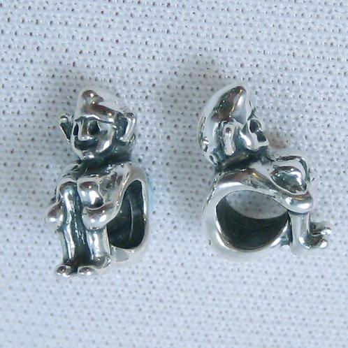 Cornish Pixie Bead - Silver