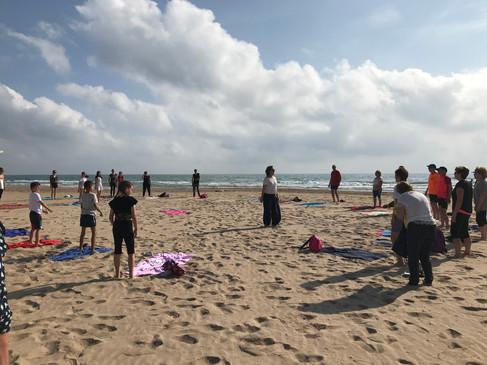 Yoga playa de Gandía