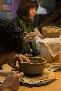 modelado con ceramica