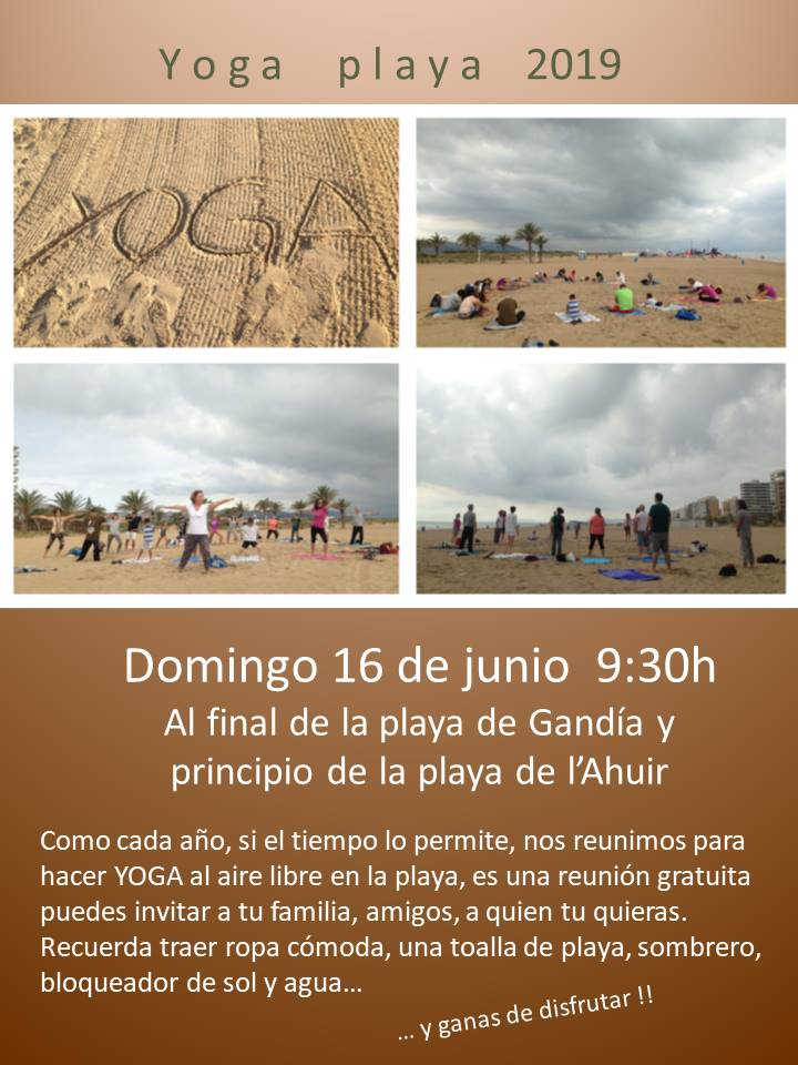 YOGA PLAYA JUNIO 2019