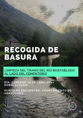 Limpieza del Río Bustablado