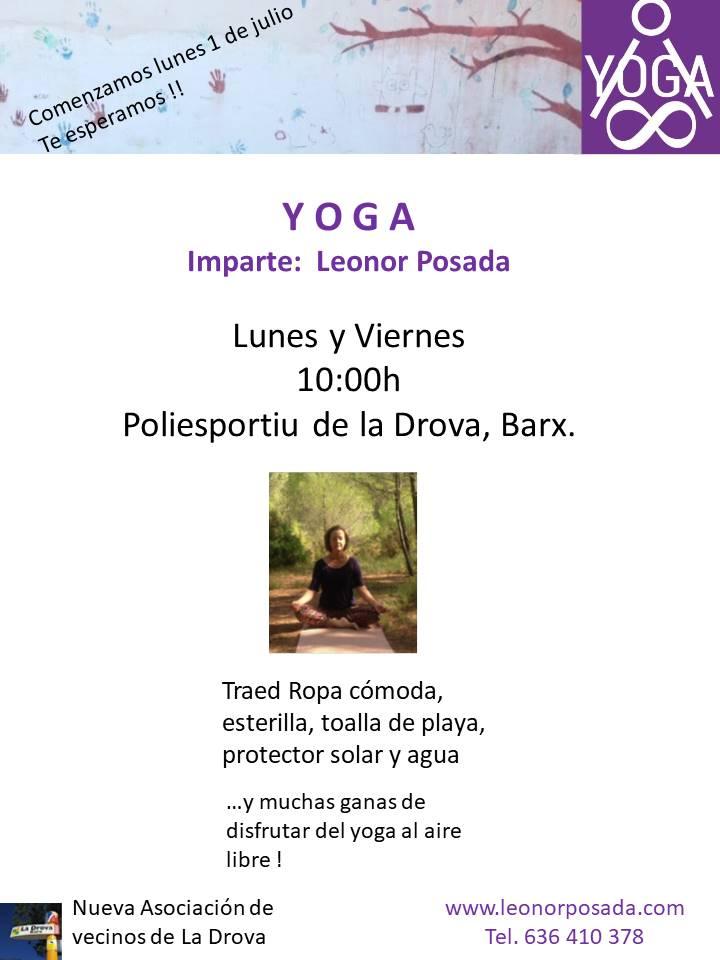 Yoga en Barx 2019