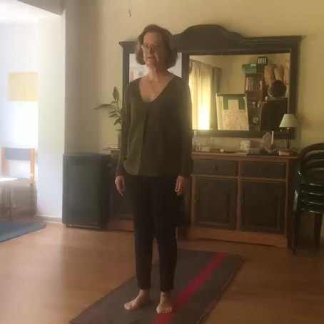 Práctica de yoga: El saludo al sol