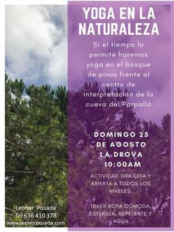Yoga en La Drova 2019
