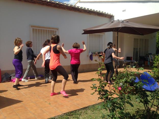 Yoga dance
