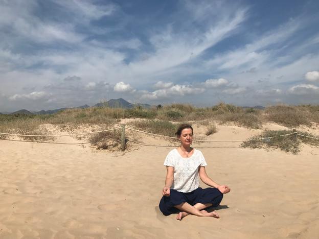 Yoga playa de gandia