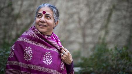 ¿Quien es Vandana Shiva?