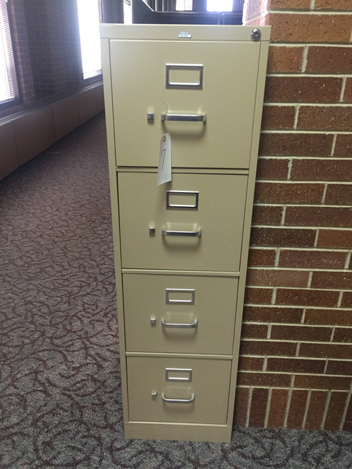 Upright 4 Drawer File Cabinet   Same Day Delivery and Moving Services