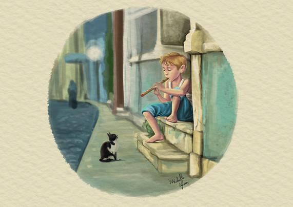 Ilustrado por Michelle Cafeu