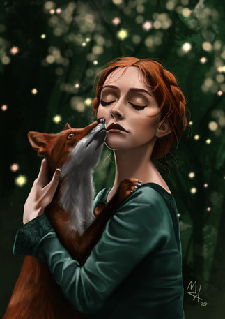 Girl and The Fox