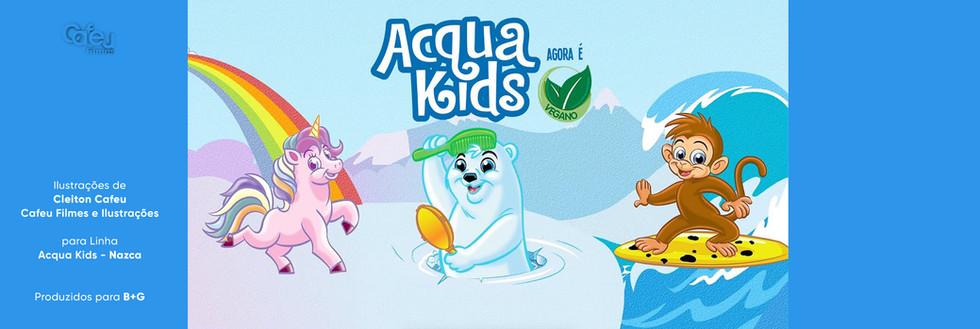 Ilustração Acqua Kids
