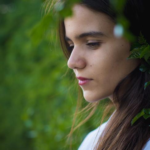 Ana Quaresma, Retrato Fotográfico na Tapada da Ajuda, em Lisboa, Portugal