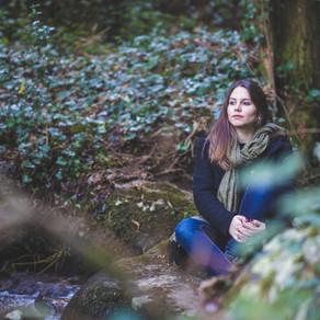 Margarida Soares, Retrato Fotográfico na Serra da Lousã, Miranda do Corvo, Portugal