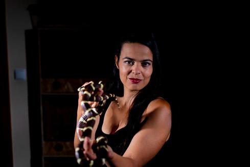 Davina Falcão Snakes