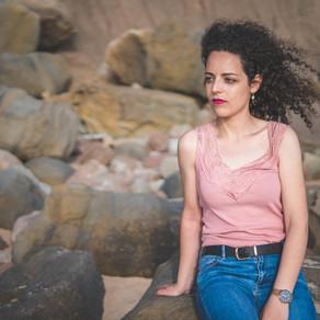 Carolina Nunes, Retrato Fotográfico na Praia do Caniçal, Lourinhã, Portugal