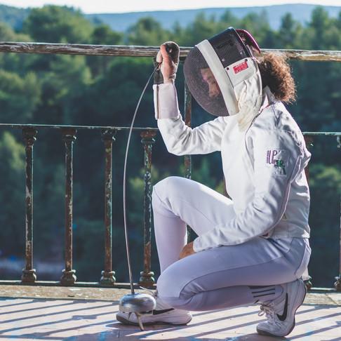 Sofia Conde, Sessão Esgrima, Retrato Fotográfico em Setúbal, Portugal