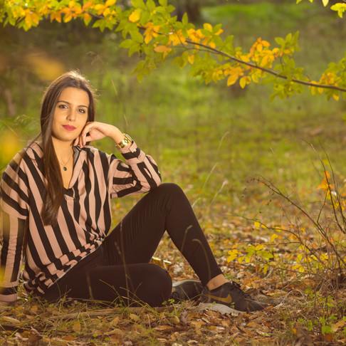 Catarina Luz, Retrato Fotográfico na Quinta das Conchas, em Lisboa, Portugal