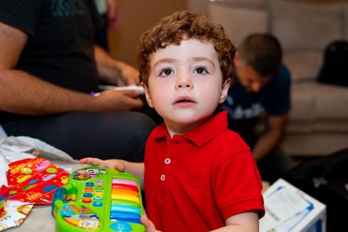 Aniversário Miguel Serrador (3 anos)