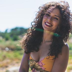 Daniela Dias, Retrato Fotográfico nas dunas do Vimeiro, Portugal