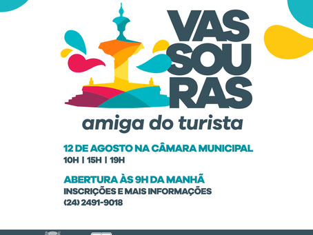 Vassouras Amiga do Turista