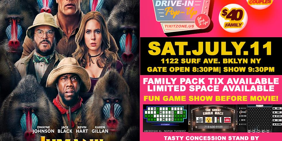Jumanji Drive-In Movie
