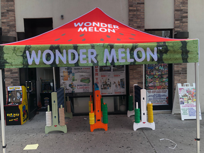 Wonder Melon Promo Tent